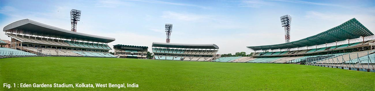 Eden Gardens Stadium, Kolkata, West Bengal, India