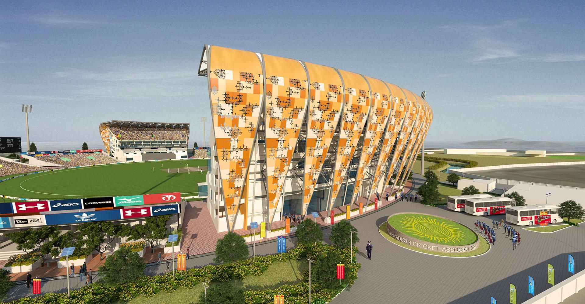 Gwalior Cricket Stadium for Madhya Pradesh Cricket Association (MPCA)-Institutional & Commercial 2